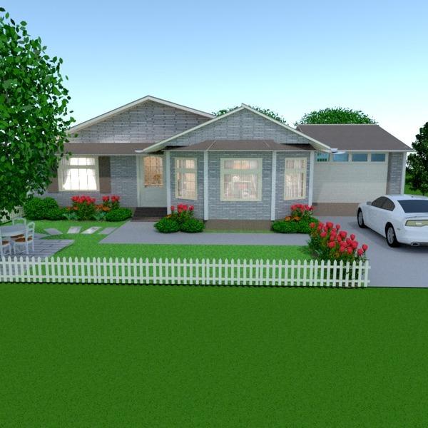 foto casa veranda garage paesaggio architettura idee