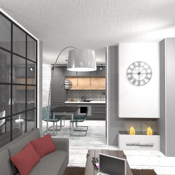 идеи квартира кухня столовая студия идеи
