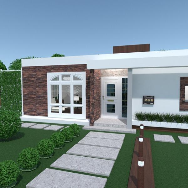 fotos casa varanda inferior paisagismo arquitetura patamar ideias