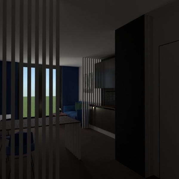 идеи мебель гостиная кухня студия идеи