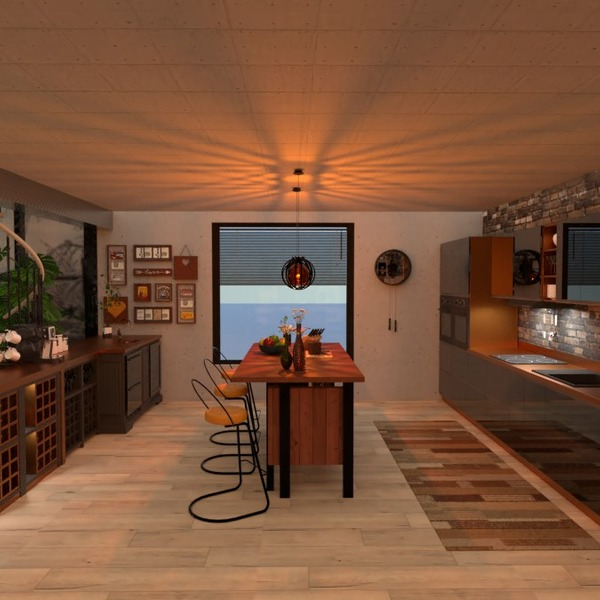 photos appartement meubles décoration cuisine eclairage idées