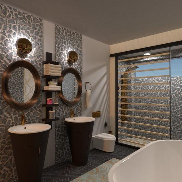 nuotraukos butas baldai dekoras vonia apšvietimas idėjos