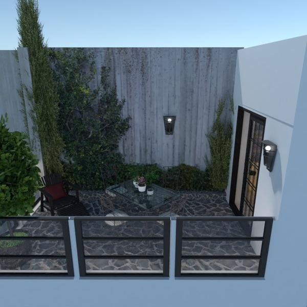 foto appartamento veranda arredamento esterno illuminazione idee