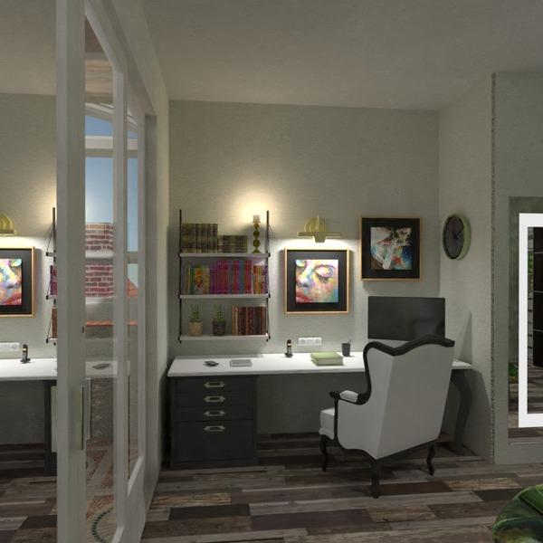fotos apartamento dormitório escritório iluminação reforma estúdio ideias