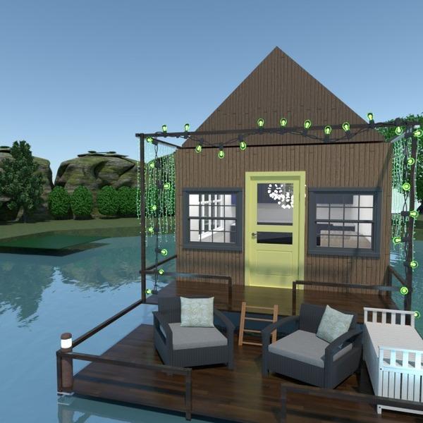 nuotraukos namas terasa idėjos