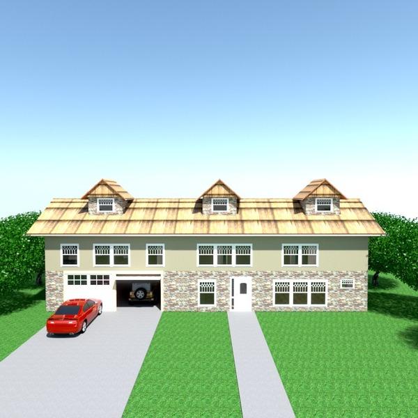 photos maison garage extérieur paysage architecture espace de rangement idées