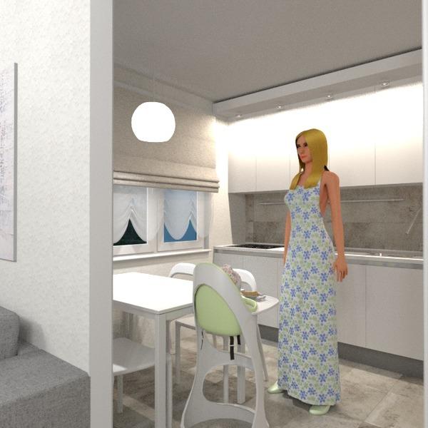 nuotraukos butas baldai svetainė virtuvė apšvietimas renovacija valgomasis idėjos