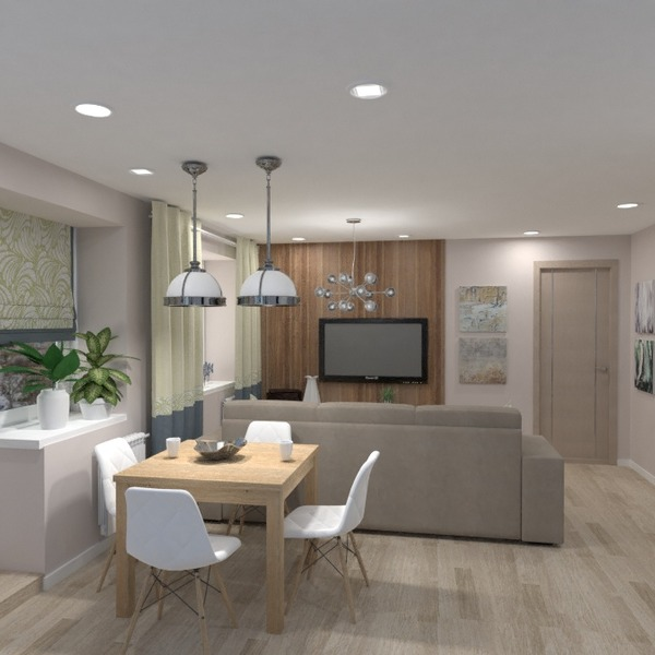 идеи квартира гостиная кухня ремонт столовая идеи