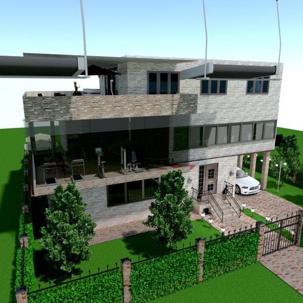 photos appartement maison terrasse extérieur paysage architecture idées