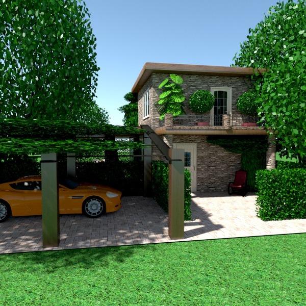 photos maison garage extérieur paysage idées