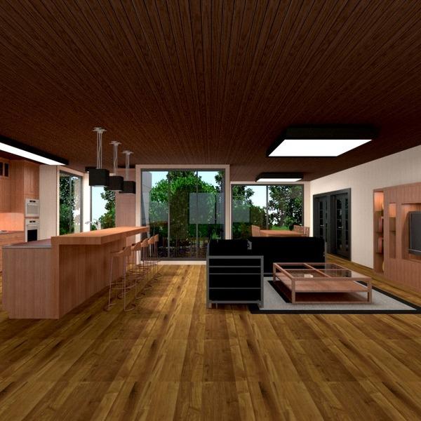 fotos wohnzimmer küche renovierung haushalt studio ideen