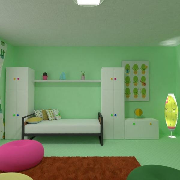 zdjęcia meble wystrój wnętrz pokój diecięcy oświetlenie pomysły