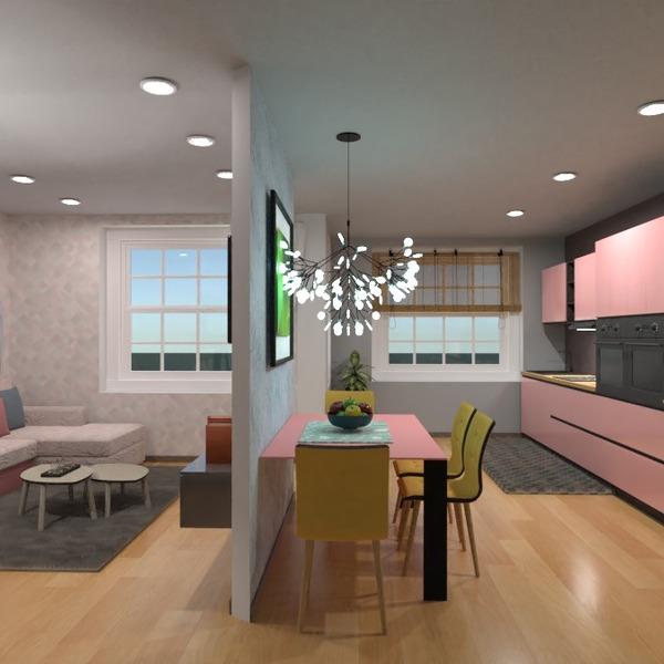 fotos apartamento quarto cozinha sala de jantar ideias