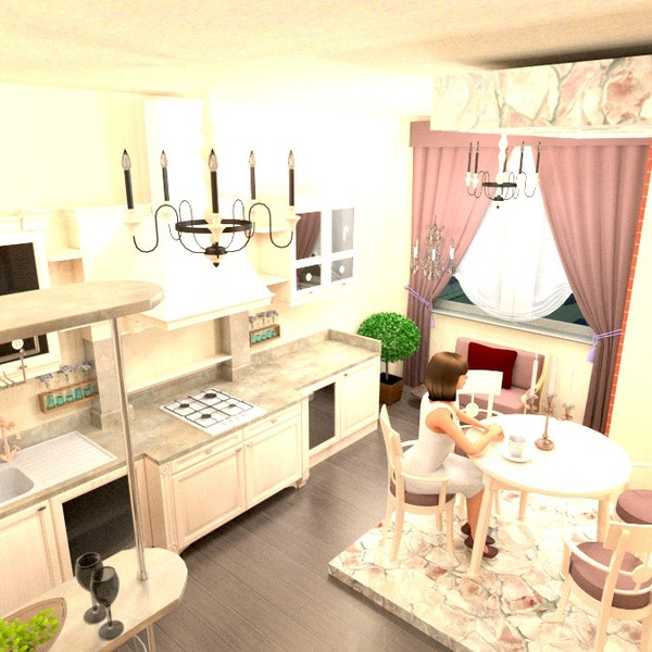 fotos küche esszimmer studio ideen