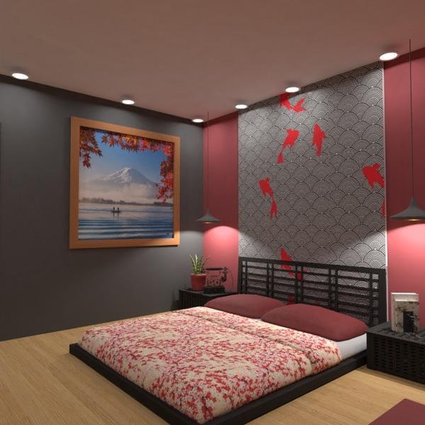 foto appartamento casa camera da letto illuminazione idee
