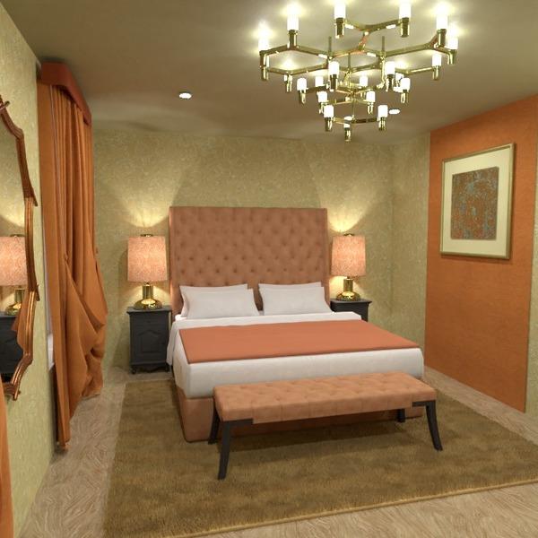 photos meubles décoration chambre à coucher eclairage idées