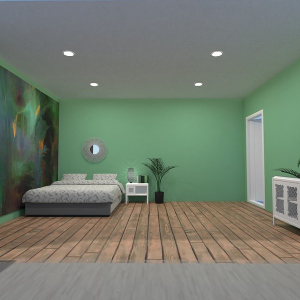 foto appartamento casa camera da letto illuminazione monolocale idee