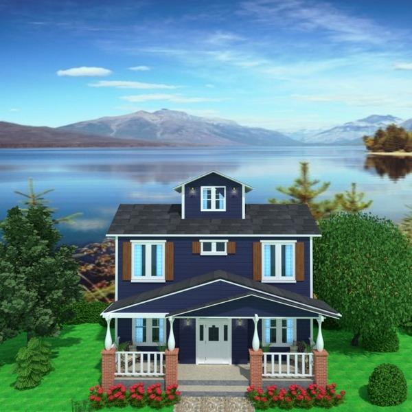 foto casa veranda arredamento angolo fai-da-te esterno illuminazione paesaggio architettura idee