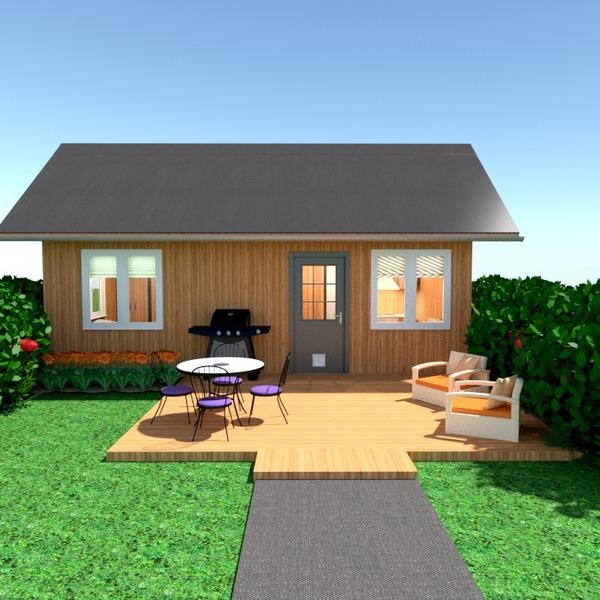nuotraukos namas terasa baldai eksterjeras kraštovaizdis аrchitektūra idėjos