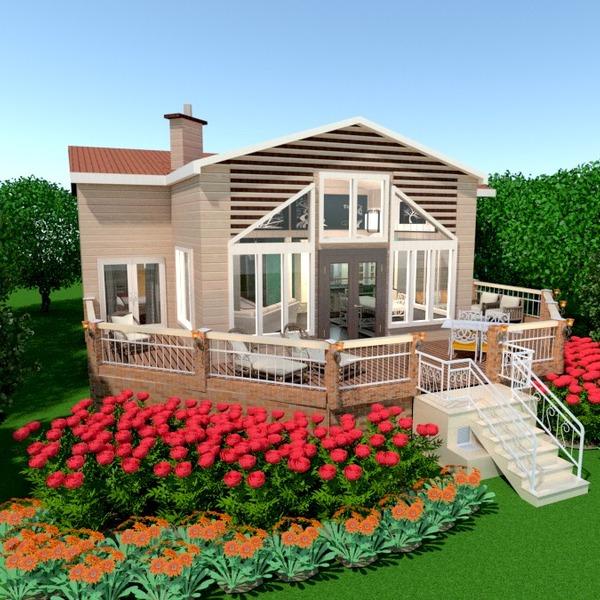 fotos casa varanda inferior faça você mesmo iluminação paisagismo arquitetura ideias