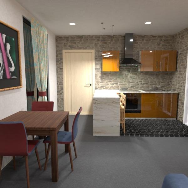 photos appartement salon cuisine eclairage rénovation idées
