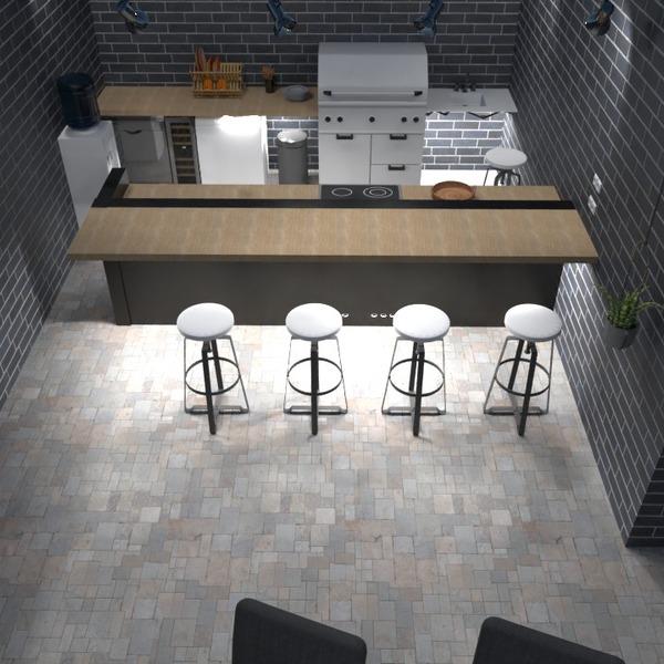 photos maison diy cuisine extérieur eclairage idées