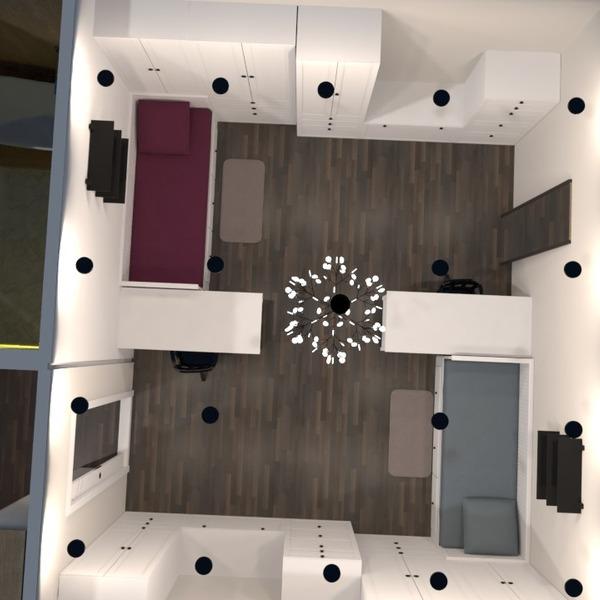 foto casa cameretta studio illuminazione monolocale idee
