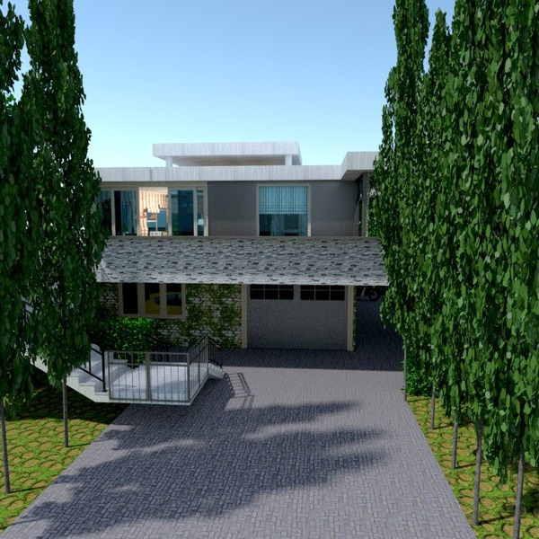 fotos haus garage outdoor landschaft architektur ideen
