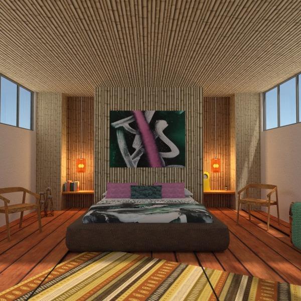 fotos casa mobílias dormitório área externa paisagismo patamar ideias