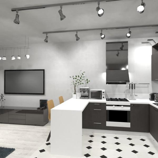 идеи гостиная кухня столовая идеи