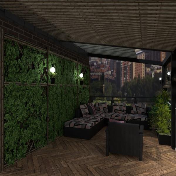 fotos wohnung terrasse mobiliar dekor beleuchtung ideen