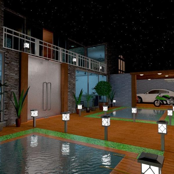 fotos casa terraza garaje exterior reforma ideas