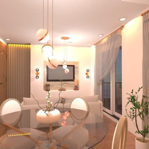 photos appartement salon cuisine eclairage idées