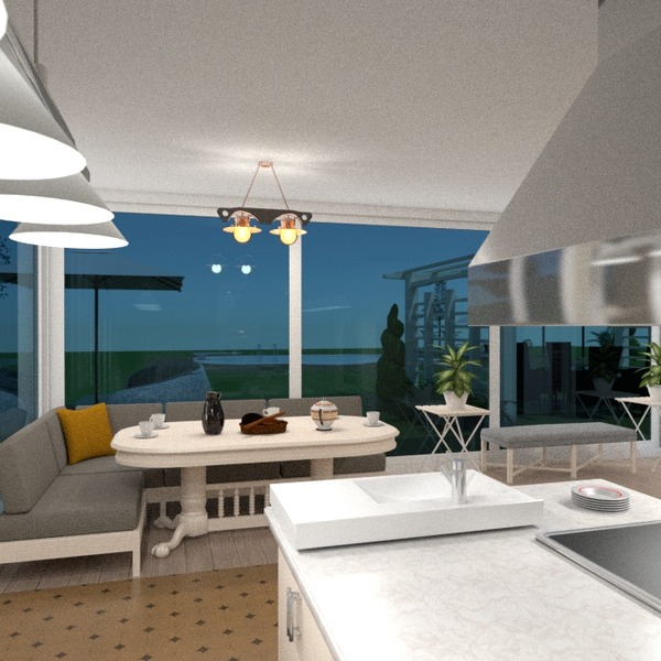 nuotraukos butas namas terasa virtuvė apšvietimas kraštovaizdis аrchitektūra idėjos