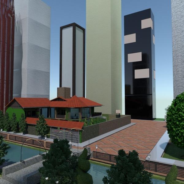 fotos casa decoração área externa paisagismo arquitetura ideias