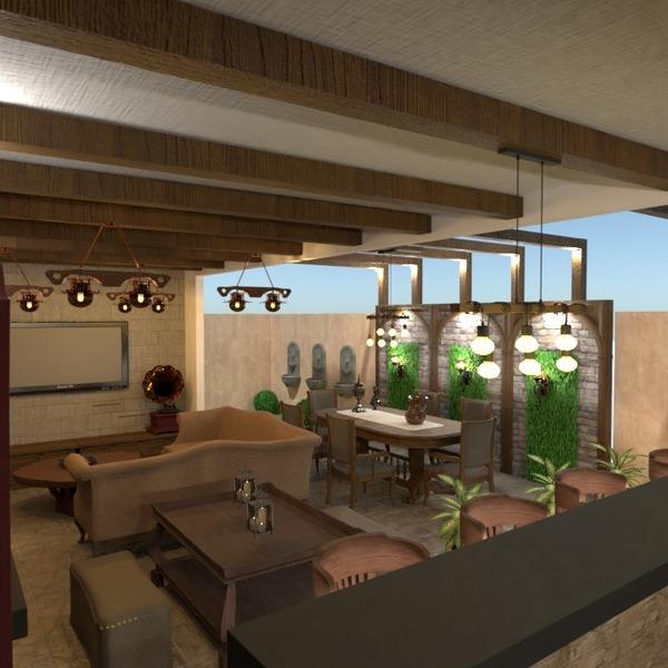 nuotraukos namas terasa eksterjeras apšvietimas аrchitektūra idėjos