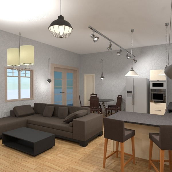 foto appartamento decorazioni saggiorno cucina idee