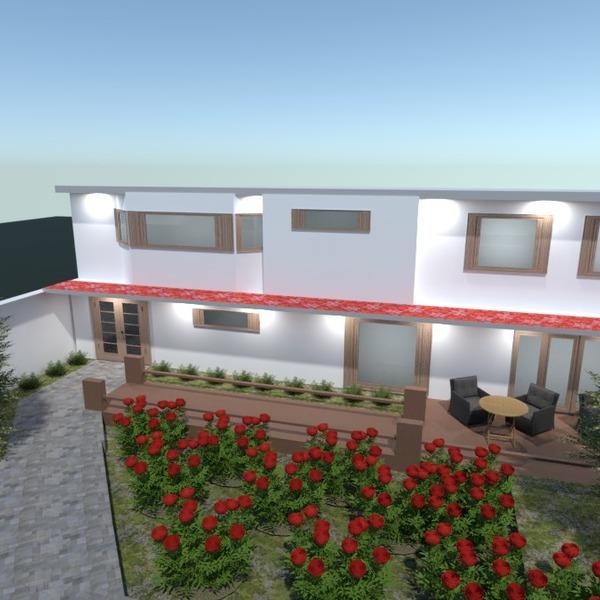 fotos casa terraza exterior iluminación paisaje ideas