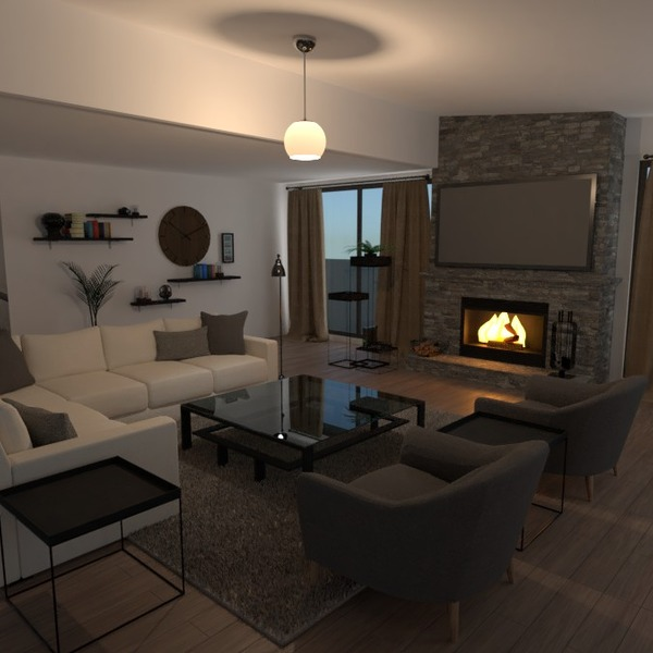 fotos salón iluminación reforma hogar arquitectura ideas