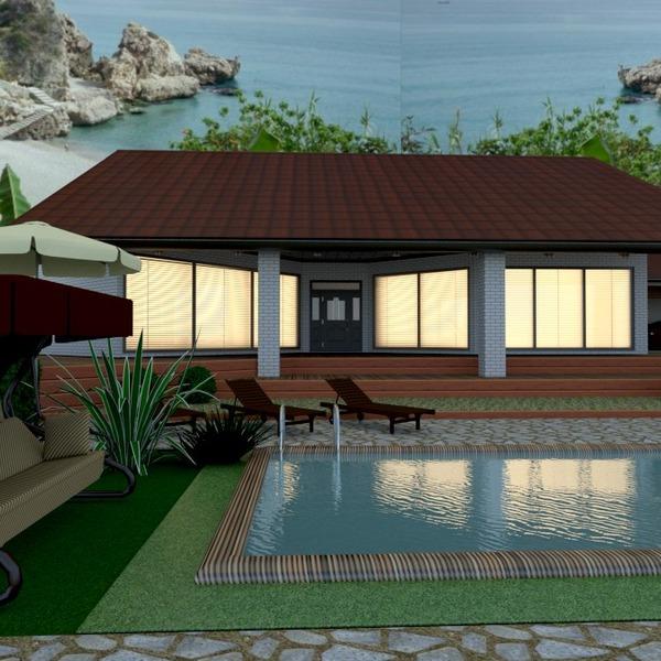 fotos casa terraza decoración paisaje ideas
