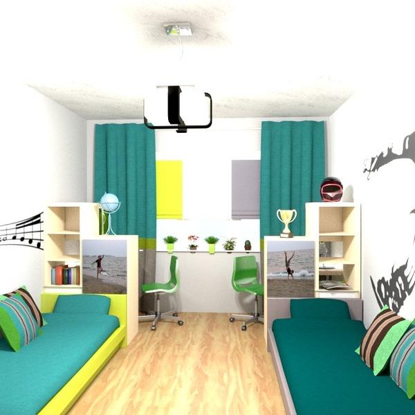 foto arredamento decorazioni angolo fai-da-te cameretta rinnovo idee
