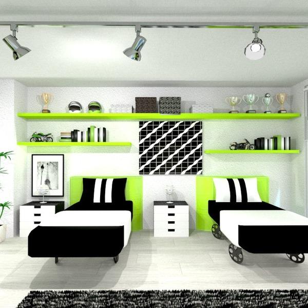 fotos muebles habitación infantil iluminación ideas