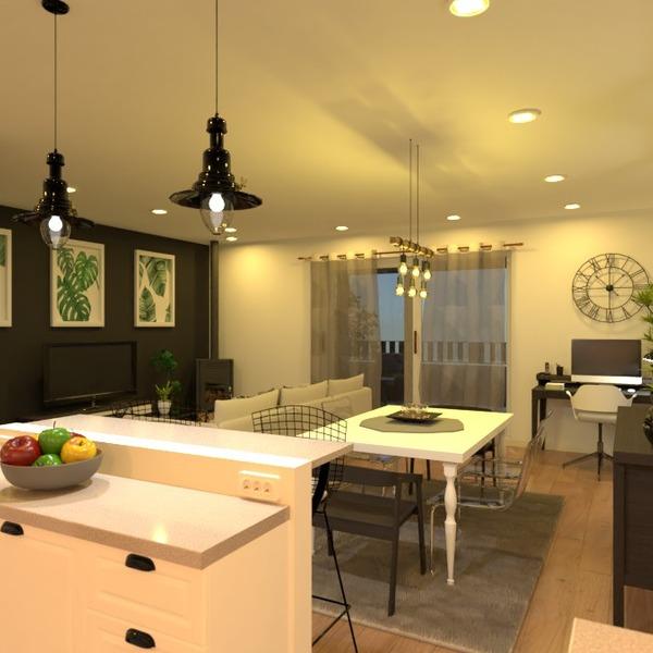 photos appartement salon cuisine eclairage salle à manger idées