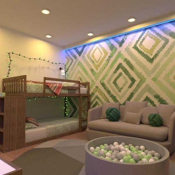 nuotraukos butas vaikų kambarys apšvietimas idėjos