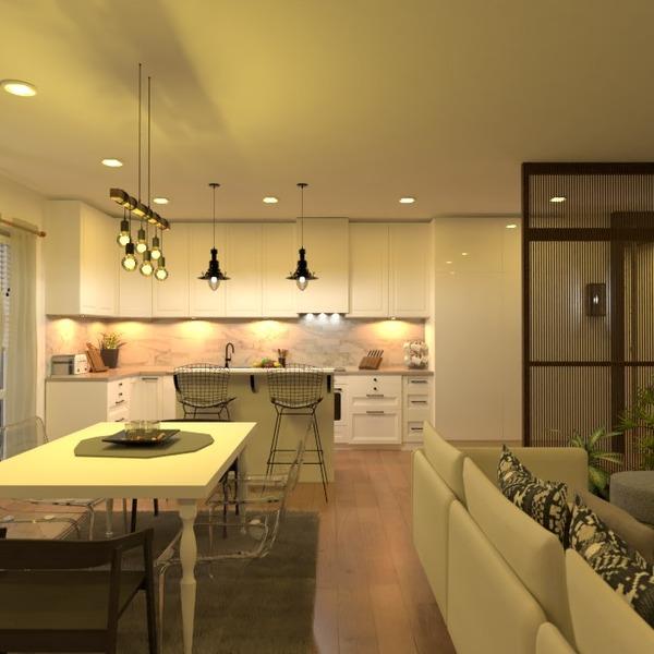 foto appartamento saggiorno cucina illuminazione idee