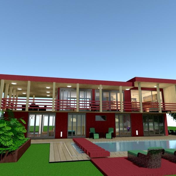 fotos casa varanda inferior mobílias faça você mesmo dormitório área externa iluminação paisagismo arquitetura ideias