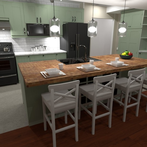 foto casa cucina illuminazione rinnovo idee