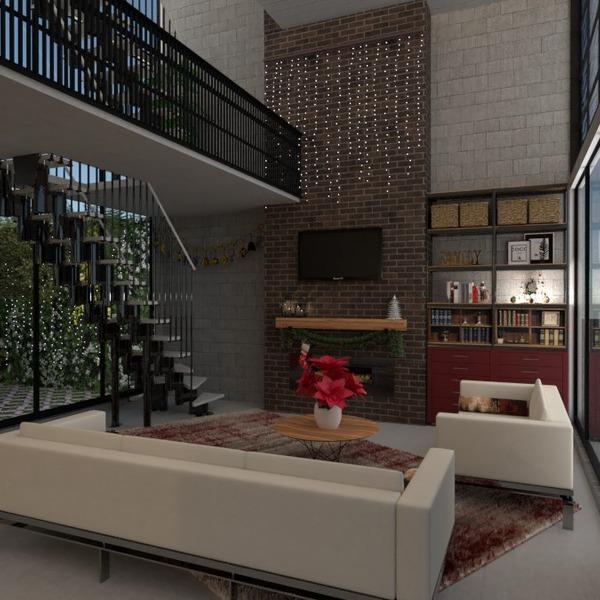foto appartamento arredamento saggiorno illuminazione vano scale idee