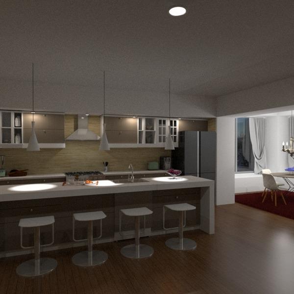 foto angolo fai-da-te cucina illuminazione caffetteria sala pranzo idee