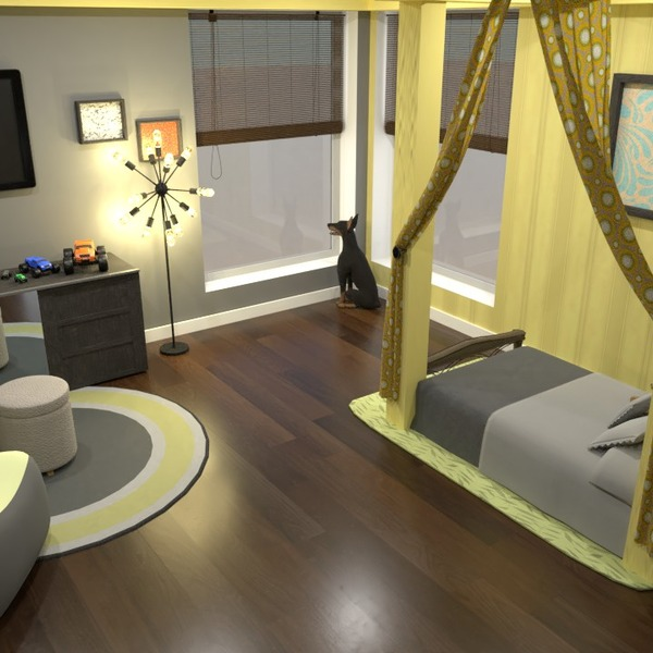 zdjęcia meble wystrój wnętrz sypialnia pokój diecięcy oświetlenie pomysły